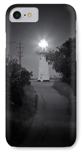 A Light In A Dark Place IPhone Case by Nicholas Blackwell