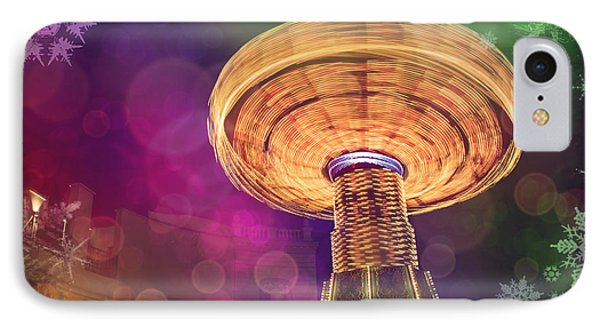 A Light Spin IPhone Case by Carol Japp