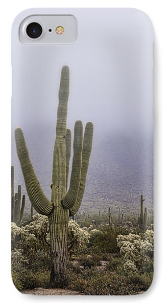 A Little Desert Fog  IPhone Case by Saija Lehtonen