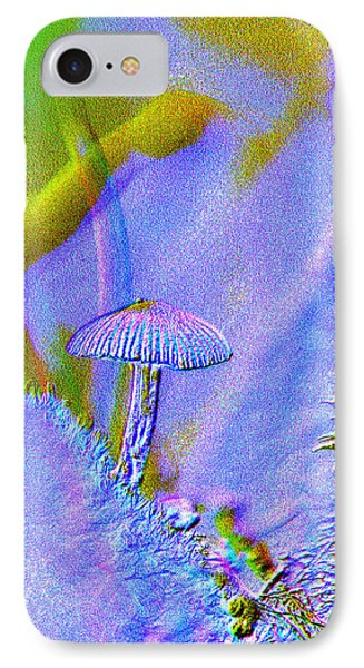 A Little Mushroom  IPhone Case by Jeff Swan
