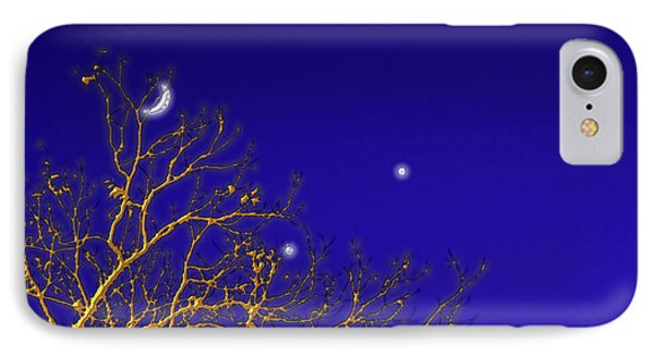 A Little Night Magic Phone Case by Wendy J St Christopher