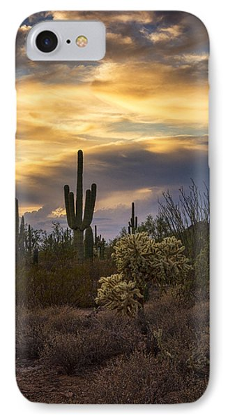 A Little Sunset Serenity  IPhone Case