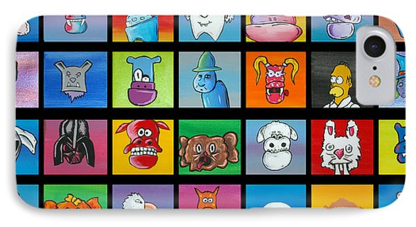 A Lot Of Character Phone Case by Jera Sky