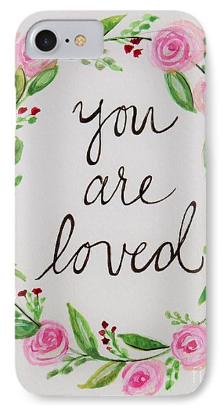 A Love Note IPhone Case by Elizabeth Robinette Tyndall