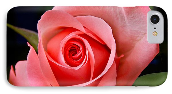 A Loving Rose IPhone Case by Sean Griffin