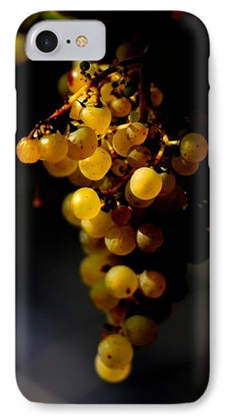 A Luscious Bunch Of Grapes IPhone Case by Ian Sanders