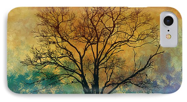 A Magnificent Tree IPhone Case by Bedros Awak