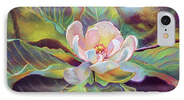 A Magnolia For Maggie Phone Case by Susan Jenkins