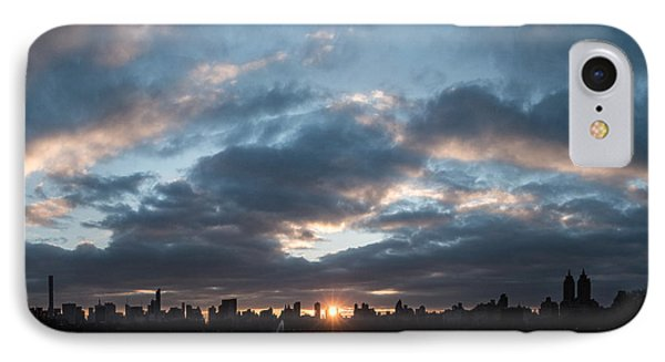 A Manhattan Sunset IPhone Case
