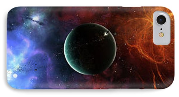 A Massive And Crowded Universe IPhone Case by Brian Christensen