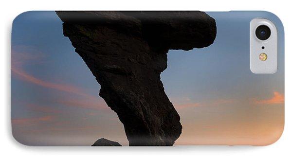 Desert Sunset iPhone 7 Case - A Matter Of Balance by Mike Dawson