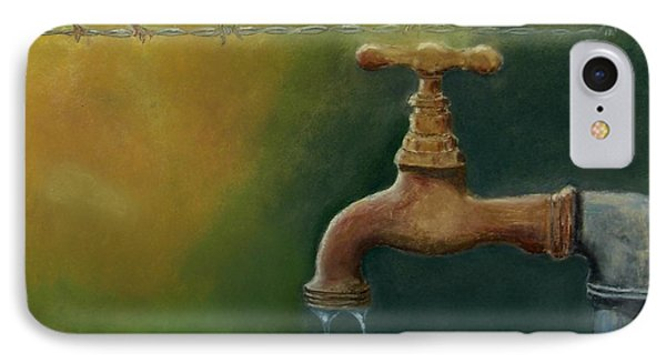 IPhone Case featuring the painting A Matter Of Watter by Ceci Watson