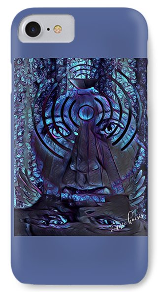 A Medium For Other People's Trauma IPhone Case by Vennie Kocsis