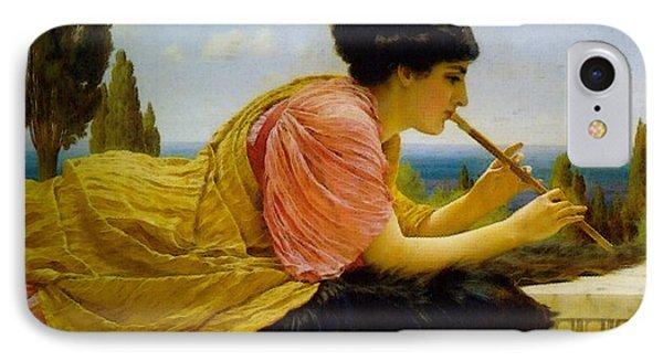 A Melody  IPhone Case by John William Godward