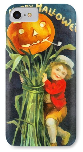 A Merry Halloween IPhone Case by Unknown