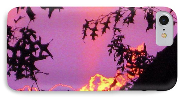 IPhone Case featuring the photograph A Mid-summer Sunset by Susan Carella