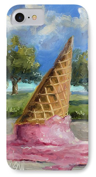 A Mid Summer Tragedy IPhone Case by Billie Colson