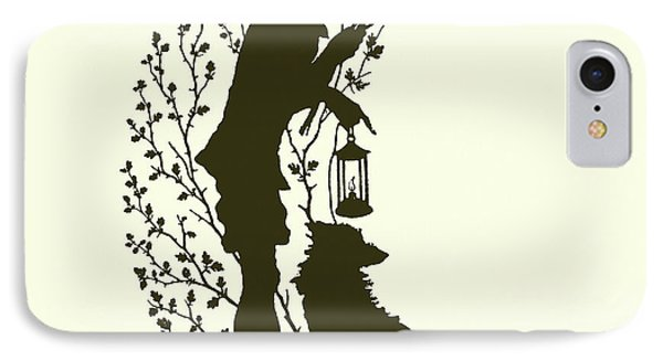 A Midsummer Night's Dream, Silhouette  IPhone Case