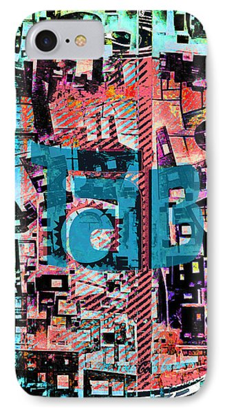 IPhone Case featuring the mixed media A Million Colors One Calorie by Tony Rubino