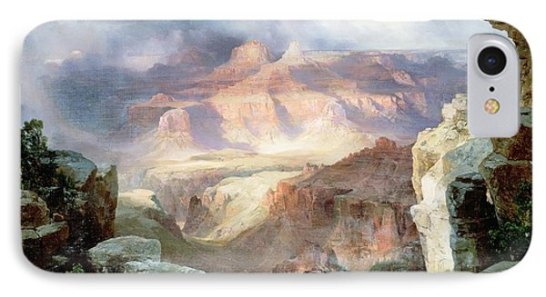 A Miracle Of Nature IPhone Case by Thomas Moran