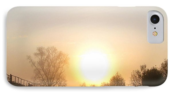 IPhone Case featuring the photograph A Misty Morning Walk by Charmaine Zoe