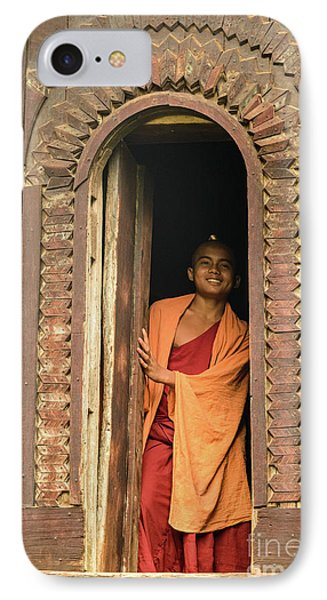 A Monk 4 IPhone Case