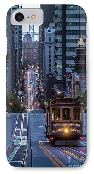 A Morning On California Street IPhone Case