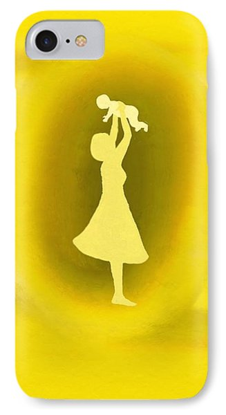 A Mother Phone Case by Angie Armstrong