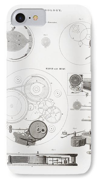 A Musical Watch By The Clockmaker IPhone Case