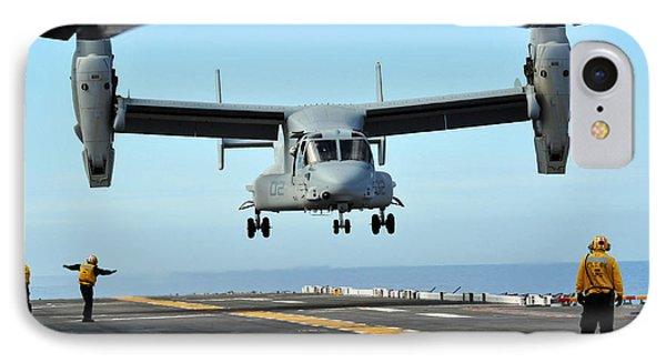 A Mv-22 Osprey Aircraft Prepares Phone Case by Stocktrek Images