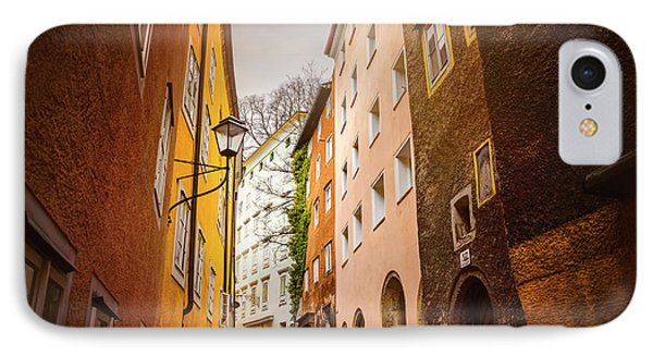 A Narrow Street In Salzburg  IPhone Case