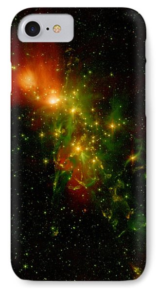 A Nebula Called Ngc 1333 In The Constellation Perseus IPhone Case by American School