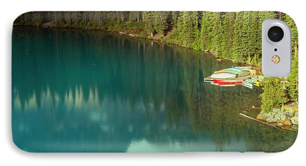 A New Day At Moraine Lake IPhone Case by Joan Carroll