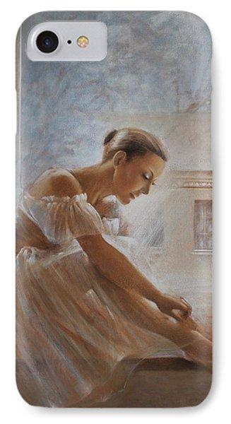 A New Day Ballerina Dance IPhone Case by Vali Irina Ciobanu