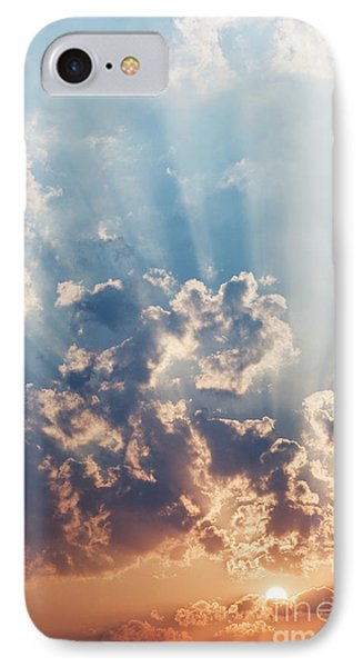 A New Day IPhone Case by Tim Gainey