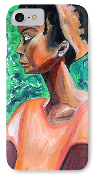 IPhone Case featuring the painting A New Queen Of Sheba by Esther Newman-Cohen