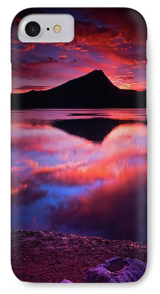 IPhone Case featuring the photograph A New Start by John De Bord