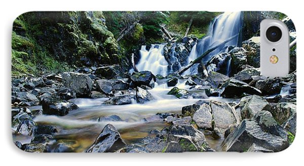 A New Way To The Waterfall  Phone Case by Jeff Swan