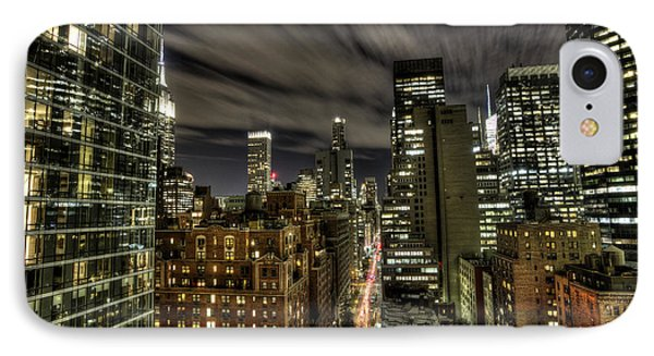IPhone Case featuring the photograph A New York City Night by Shawn Everhart