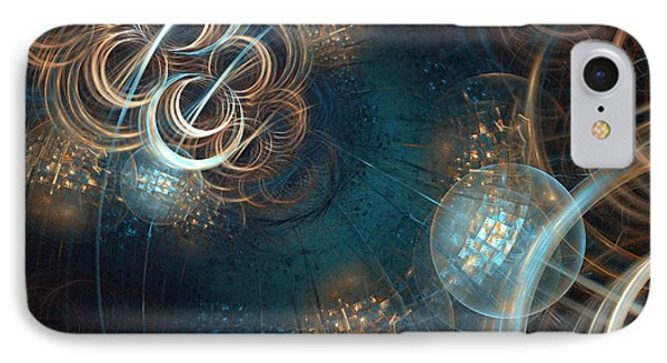 A Night At The Disco IPhone Case by Sandra Bauser Digital Art