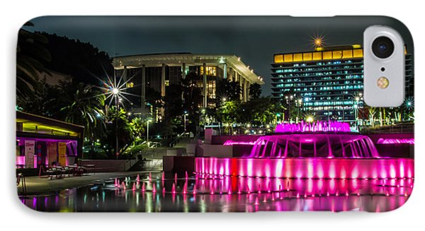 A Night In Los Angeles IPhone Case by April Reppucci