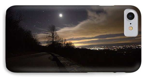 A Night On Skyline Drive IPhone Case by Shannon Louder