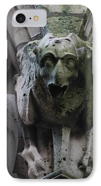 IPhone Case featuring the photograph A Notre Dame Griffon by Christopher Kirby