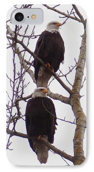 A Pair Of Eagles IPhone Case