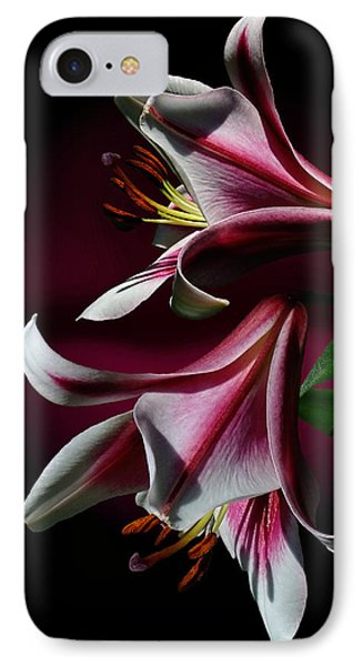 A Pair Of Lilies IPhone Case