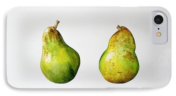 A Pair Of Pears IPhone Case by Alison Cooper