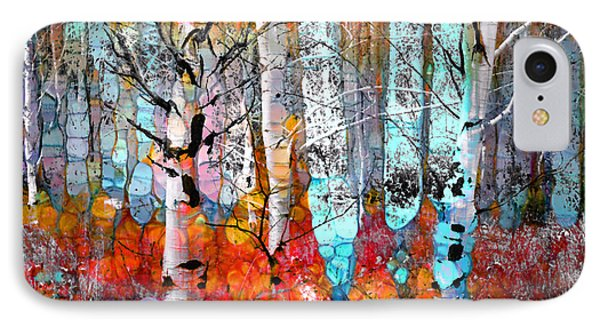 A Party In The Forest IPhone Case by Tara Turner