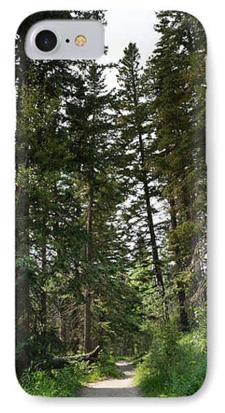 A Path Through The Trees IPhone Case