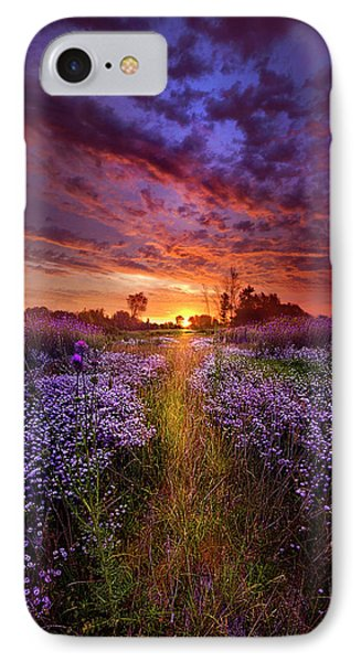 A Peaceful Proposition IPhone Case by Phil Koch