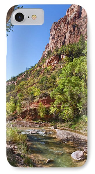 IPhone Case featuring the photograph A Peaceful Zion by John M Bailey